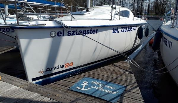 Jacht Żaglowy Antila 24<br />el sztagster