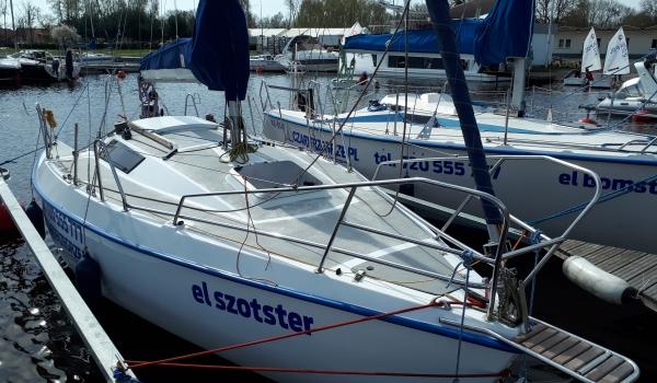 Jacht żaglowy Sasanka 620<br/>el szotster