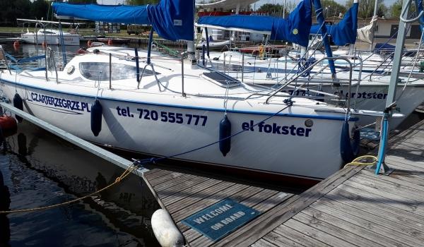 Jacht Żaglowy Maxus 24<br />el fokster