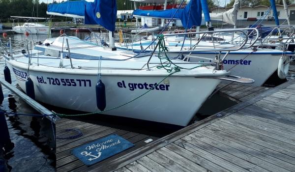 Jacht Żaglowy Tango 780<br />el grotster