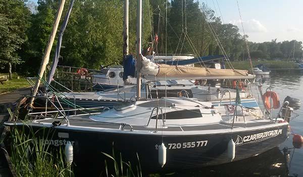 Jacht żaglowy Sasanka Viva 21<br />el gongster